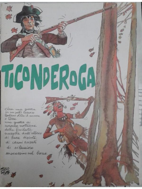 Ticonderoga - Héctor Oesterheld e Hugo Pratt - Il Gatto e La Volpe Edizioni