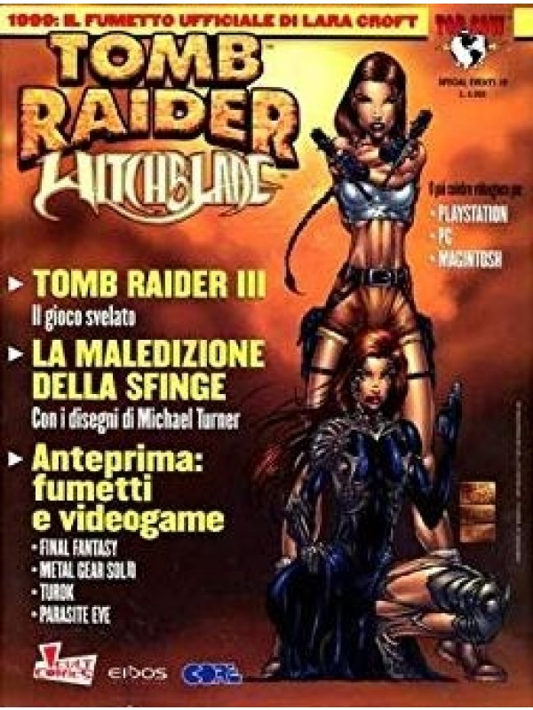 Tomb Raider Witchblade - Special Events - Cult Comics Panini - Miniserie completa 1/2