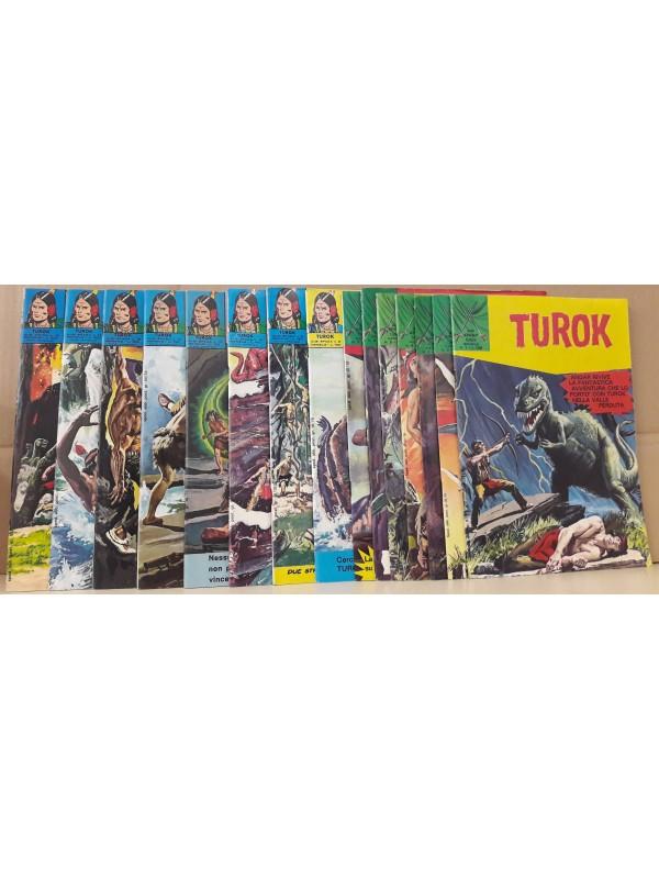 Turok - Edizioni F.lli Spada - 1972/1974 - Serie completa 1/15