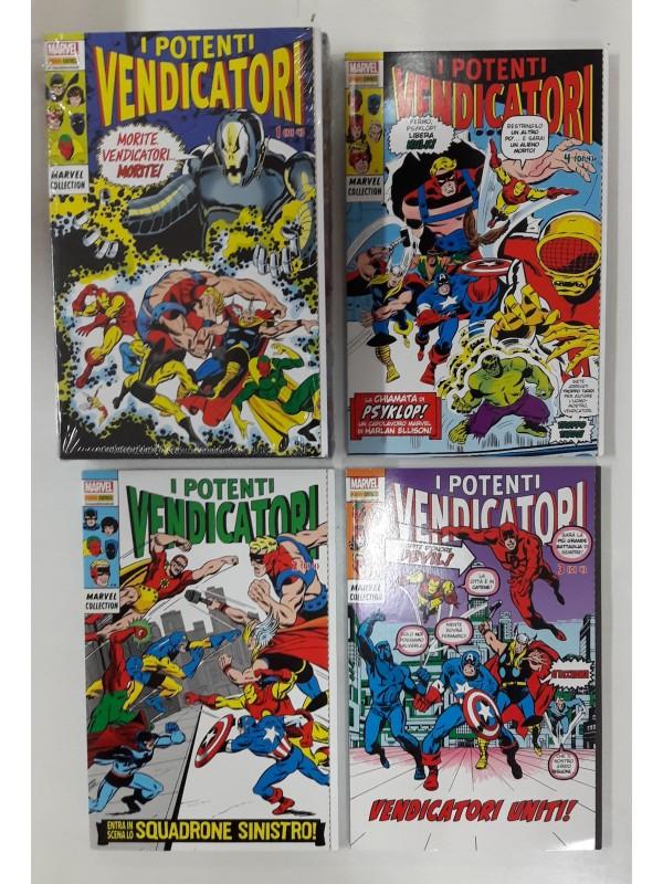 I Potenti Vendicatori - Marvel Collection - Serie completa 1/4 + Cofanetto (ancora sigillato)