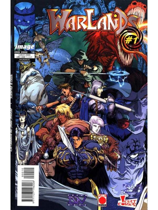 Warlands - Planet Manga - Serie completa 1/7