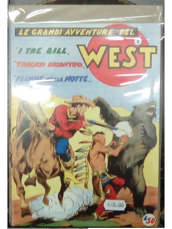 Le Grandi Avventure del West - Ristampe anastatiche - Serie completa 1/9
