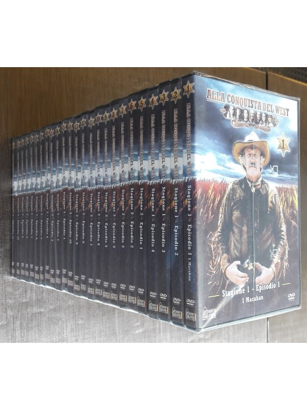 Alla Conquista del West - Hobby & Work - DVD - Serie completa 3 stagioni (25 Episodi in totale)