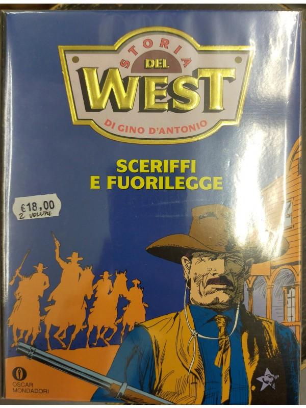 Storia del West di Gino D'antonio - Oscar Mondadori - Serie completa 1/2