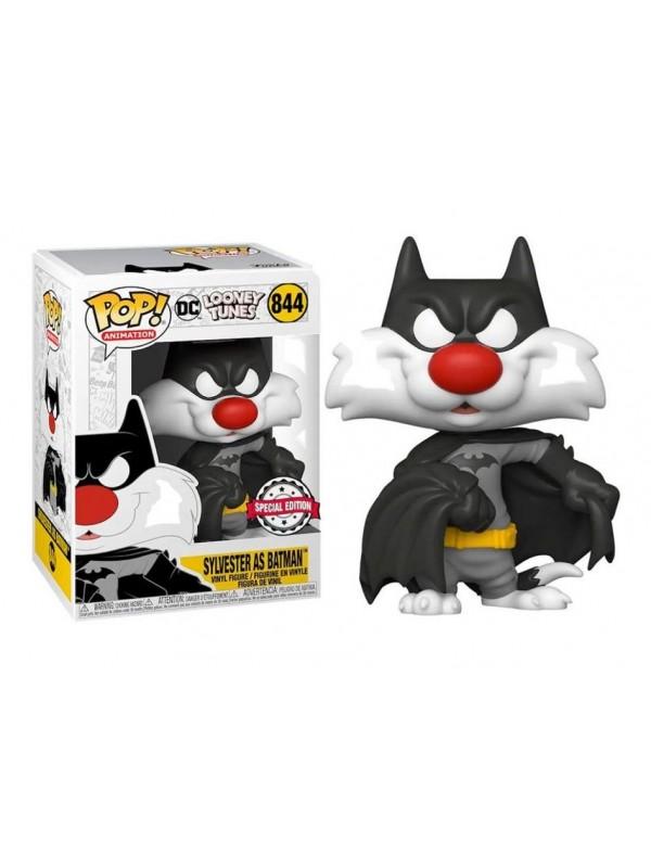Sylvester as Batman (Gatto Silvestro) - Looney Tunes - DC Universe - Vinyl Figure - Pop! Animation 844 - Special Edition
