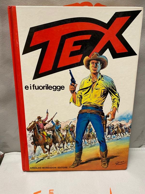 Tex e i Fuori Legge - Tex Cartonati - Arnoldo Mondadori Editore
