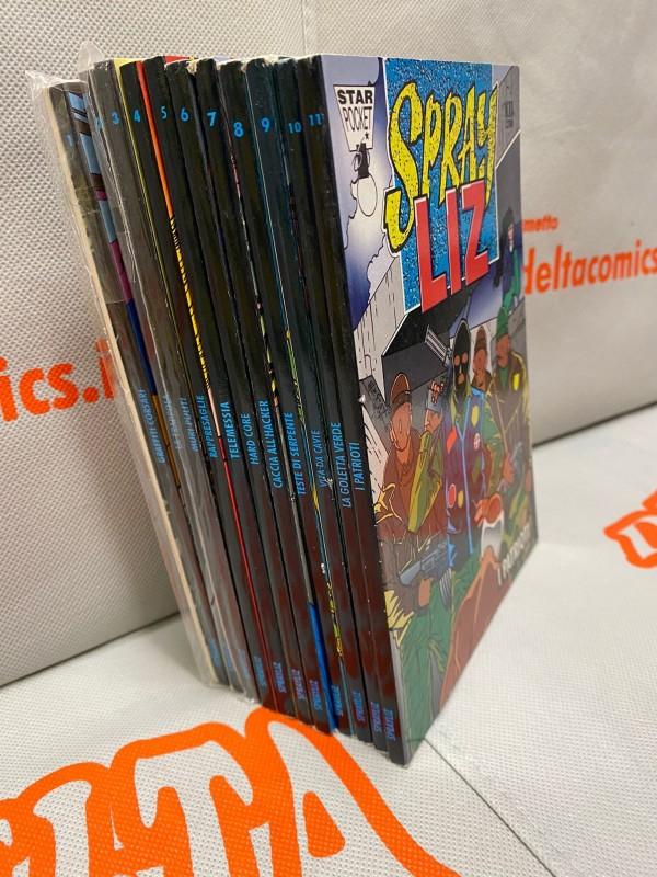 Spray Liz - Serie Completa nn. 0/11 Luca Enoch - Star Comics
