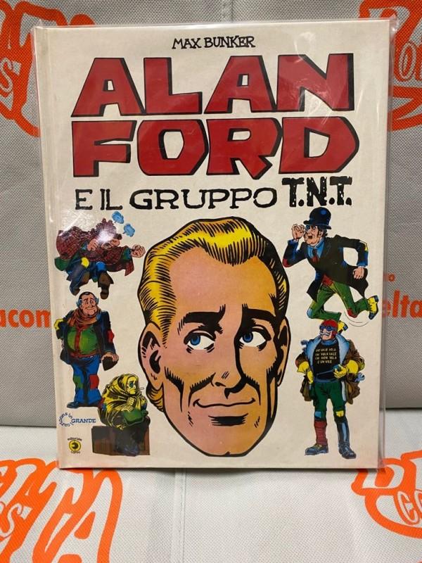 Alan Ford E Il Gruppo T.N.T. - Max Bunker - Copertina Cartonata - Editoriale Corno