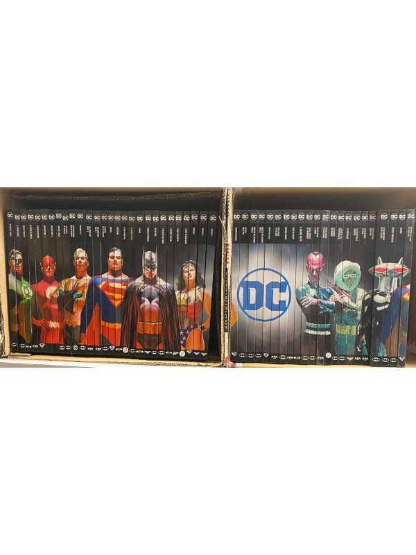 DC Comics: Le Grandi Storie dei Supereroi - Serie in sequenza 1/50 (2016-2017) - Eaglemoss