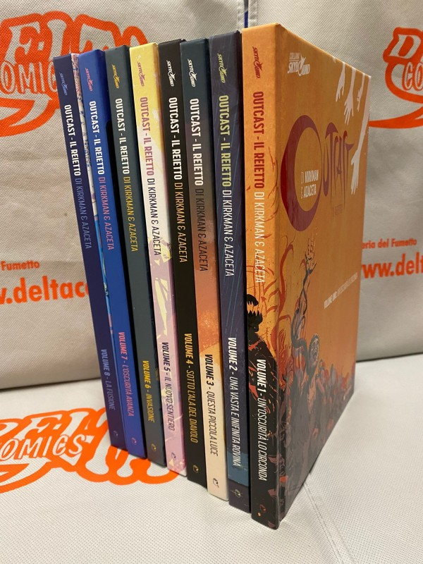 Outcast. Il reietto - Serie completa vol. 1/8 (2015-2021) - Saldapress