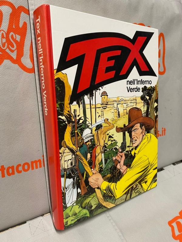 Tex - Nell'Inferno Verde - Volume Cartonato a colori - Arnoldo Mondadori Editore