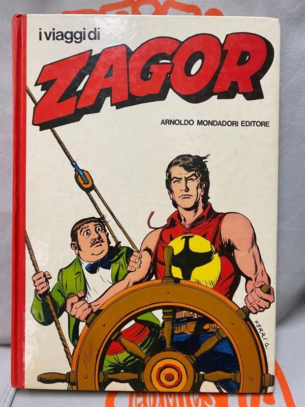 I Viaggi di ZAGOR - Volume Cartonato a colori (1981) - Arnoldo Mondadori Editore