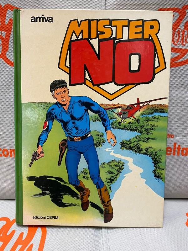 Arriva Mister No - Volume Cartonato a colori 1979 - edizioni CEPIM