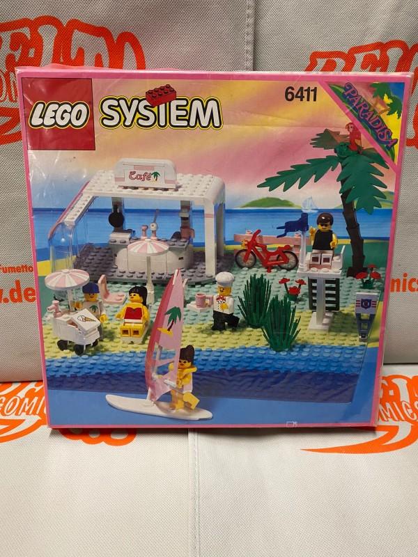 Lego 6411 - Sand Dollar Cafe (Paradisa series) - Vintage anni '90 - System