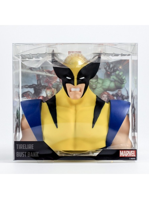 Wolverine Bust Bank - Tirelire - Semic Distribution