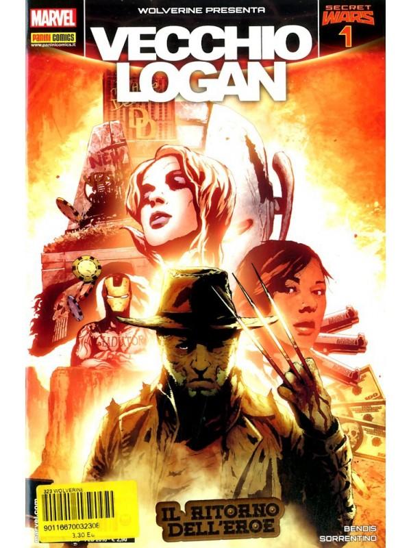 Wolverine Presenta Vecchio Logan - Secret Wars - Wolverine - Panini Comics - Miniserie completa 1/4