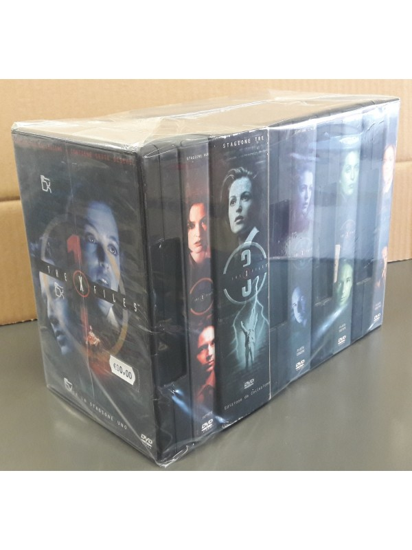 X-Files - Pack stagioni 1/8 (8 dvd box) - Sequenza in blocco